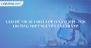 Đề thi kì 1 môn hoá lớp 11 năm 2019 - 2020 trường THPT Nguyễn Tất Thành