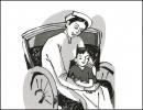 Nêu suy nghĩ về tình mẫu tử trong đoạn trích Trong lòng mẹ của Nguyên Hồng, Ngữ văn 8