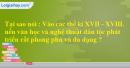 Bài 6 trang 82 SBT sử 7