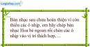 C. Bài tập vận dụng, mở rộng - Bài 4 : Cách chèn ô nhịp; thay đổi thông tin bản nhạc