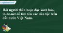 C. Hoạt động ứng dụng - Bài 20B: Niềm tự hào Việt Nam