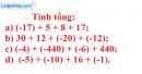 Bài 57 trang 85 SGK Toán 6 tập 1