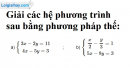 Bài 13 trang 15 SGK Toán 9 tập 2