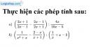 Bài 58 trang 62 sgk toán 8 tập 1