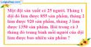 Bài 1, 2, 3, 4 trang 84 SGK Toán 4