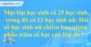 Bài 3 trang 75 Tiết 43  sgk Toán 5