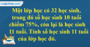 Bài 1 trang 77 Tiết 45 sgk Toán 5
