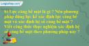 Câu hỏi thực hành phần b trang 221 SGK Vật lý 10