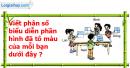 B. Hoạt động ứng dụng - Bài 64 : Luyện tập
