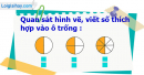 B. Hoạt động thực hành - Bài 65 : Phân số bằng nhau