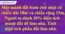 Bài 3 trang 77 Tiết 46 sgk Toán 5