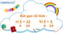 B. Hoạt động thực hành - Bài 74 : Phép cộng phân số (tiếp theo)