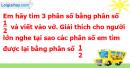 C. Hoạt động ứng dụng - Bài 65 : Phân số bằng nhau