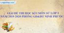 Đề thi học kì 1 môn sử lớp 9 năm 2019 - 2020 phòng GD&ĐT Ninh Phước