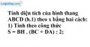 Bài 6 trang 9 SGK Toán 8 tập 2