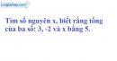 Bài 63 trang 87 SGK Toán 6 tập 1