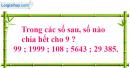Bài 1, bài 2, bài 3, bài 4 Tiết 87 trang 97 sgk Toán 4