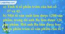 Bài 1 trang 79 Tiết 48 sgk Toán 5