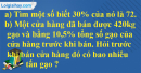 Bài 3 trang 79 Tiết 48 sgk Toán 5