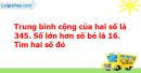 B. Hoạt động ứng dụng - Bài 109 : Ôn tập về tìm hai số biết tổng và hiệu của hai số đó
