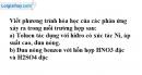 Bài 3 trang 159 SGK Hóa học 11