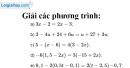 Bài 11 trang 13 SGK Toán 8 tập 2