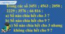 Bài 1, bài 2, bài 3, bài 4 Tiết 89 trang 98  sgk Toán 4