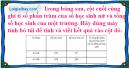 Bài 1 trang 83 Tiết 52 sgk Toán 5