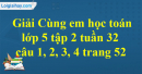 Giải câu 1, 2, 3, 4 trang 52