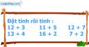 Bài 1, bài 2, bài 3, bài 4 trang 109 sgk toán lớp 1