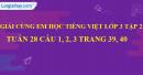 Giải câu 4, 5, 6, vui học trang 40, 41, 42