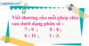 Bài 1, 2, 3 trang 108 SGK Toán 4