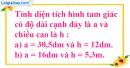 Luyện tập Bài 1 trang 88 SGK toán 5.