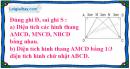 Bài 3 trang 94 (Luyện tập) SGK Toán 5