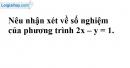 Trả lời câu hỏi 2 Bài 1 trang 5 SGK toán 9 tập 2