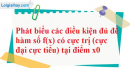 Câu hỏi 3 trang 145 SGK Giải tích 12