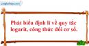 Câu hỏi 6 trang 145 SGK Giải tích 12