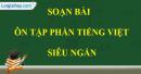 Soạn bài Ôn tập phần Tiếng Việt siêu ngắn - Ngữ văn 9 tập 2