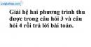 Trả lời câu hỏi 5 Bài 5 trang 21 SGK toán 9 tập 2