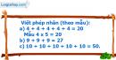 Bài 1, bài 2, bài 3 trang 92, 93 SGK Toán 2