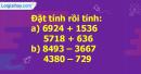 Bài 2, bài 3, bài 4 , bài 5 Tiết 104 trang 106 sgk Toán 3