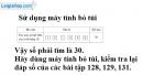 Bài 134 trang 55 SGK Toán 6 tập 2