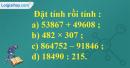 Bài 1, bài 2, bài 3  Tiết 113 trang 124 sgk Toán 4