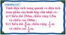 Bài 1 trang 110 SGK toán 5 luyện tập