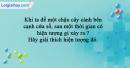 Bài 7 trang 75 SBT Sinh học 9