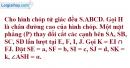 Bài 1 trang 199 SBT hình học 11