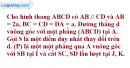 Bài 2 trang 199 SBT hình học 11