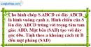 Bài 4 trang 200 SBT hình học 11