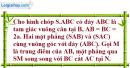 Bài 9 trang 200 SBT hình học 11