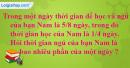 Bài 1, bài 2, bài 3, bài 4, bài 5 Tiết 120 trang 131 sgk Toán 4